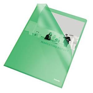 Chartek Esselte, A4, grøn, pakke a 100 stk.