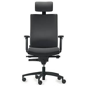 DAUPHIN AJUST MAGIC S OFFICE CHAIR BLACK