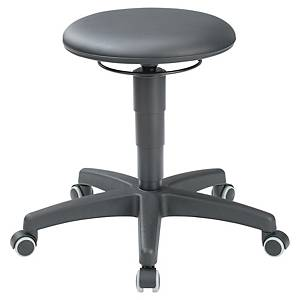 Interstuhl 9468H Industrial Stool- Black
