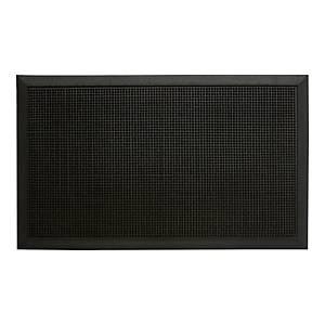 Paperflow Outdoor Mat Picot 60X80cm Blk
