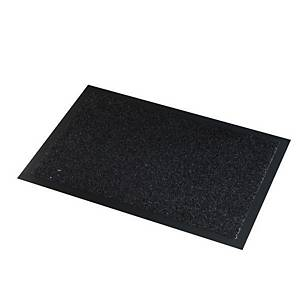 Paperflow In/Outdoor Scraper Mat 90X150cm Blk