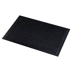 Paperflow mat voor binnen en buiten, 90 x 150 cm, zwart