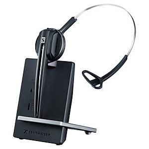 Sennheiser Headset D10, Sprechzeit bis zu 15 Stunden, einöhrig