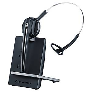 Sennheiser náhlavná súprava D10, použitie až do 15 hodín, na jedno ucho