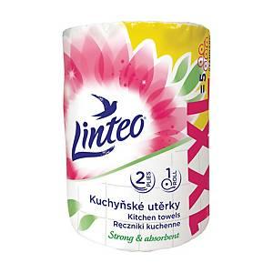 LINTEO SATIN XXL KITCHEN TOWEL 2-PLY 50M
