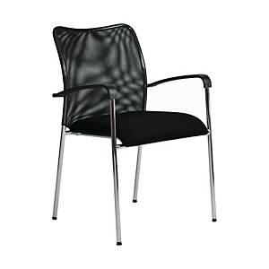 Konferenční židle Antares Spider, černá