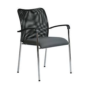 Konferenční židle Antares Spider, šedá