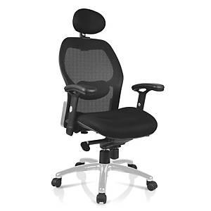Kancelárska stolička Nowy Styl Ergoflex, čierna