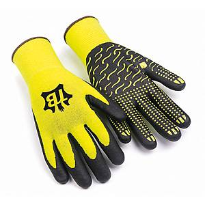 Caja de 10 pares de guantes de precisión Tomás Bodero 700F Zebra - talla 9