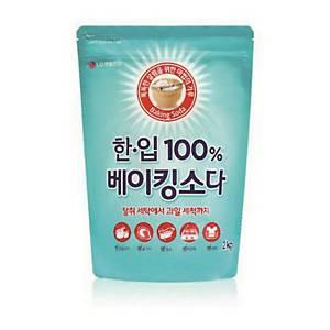 LG생활건강 한입 베이킹소다 지퍼백 리필 2kg