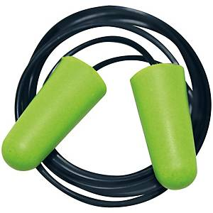 Einweg-Gehörschutzstöpsel mit Kordel, 250 Paar