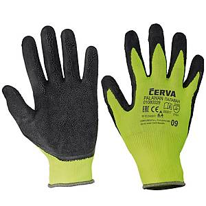 PAIR PALAWAN GLOVES NYLON LATEX PALM 9