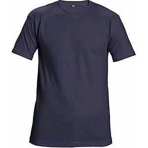 Rövid ujjú póló, pamut, méret: M, tengerészkék