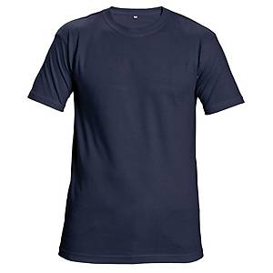 TEESTA T-SHIRT COTTON L NAVY