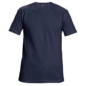 Tričko s krátkym rukávom Cerva Teesta, veľkosť XL, námornícka modrá