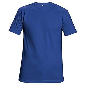 Unisex rövid ujjú póló, pamut, méret: XL, királykék