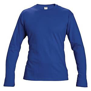 Tričko s dlhým rukávom CERVA CAMBON, veľkosť L, modré