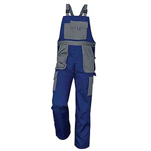Pracovné nohavice s náprsenkou Cerva Max Evolution, veľkosť 54, modré