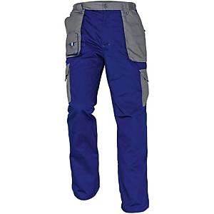 Pracovné nohavice Cerva Max Evolution, veľkosť 48, modré