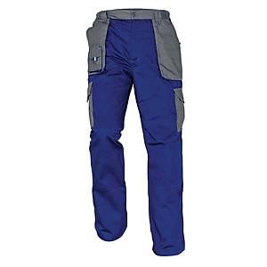 Pracovné nohavice Cerva Max Evolution, veľkosť 52, modré