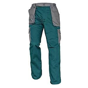 Pracovné nohavice Cerva Max Evolution, veľkosť 54, zelené
