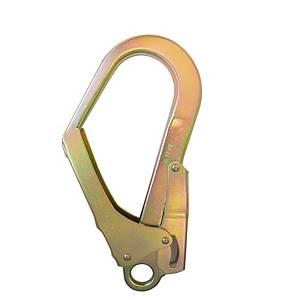 Mosquetón de acero con cierre automático Irudek 39 - 55 mm