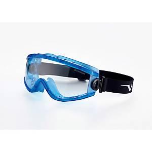 Óculos panorâmicos lente incolor ventilação indireta Univet 619.02.01.00
