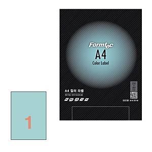 폼텍 컬러 라벨 CB-3130 연파랑 10매