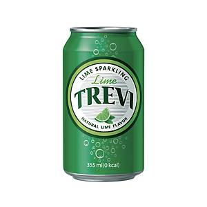 PK24 LOTTE TREVI SPARKLING WATER LIME 355ML