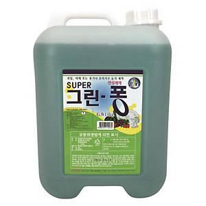 주방용 연성세제 수퍼 그린-퐁 14KG