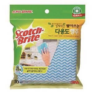 PK10 SCOTCH-BRITE MULTI-PURPOSE DISHCLOTH