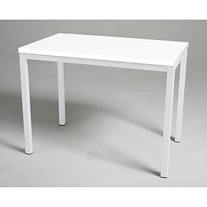 Mesa de refeição Break - larg. 800 mm - branco/branco