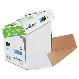 Papier à copier Navigator Eco-logical, A4, 75g/m2, blanc, 2500 flles volantes