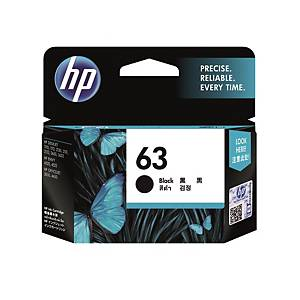HP F6U62AA 63 Inkjet Cartridge - Black