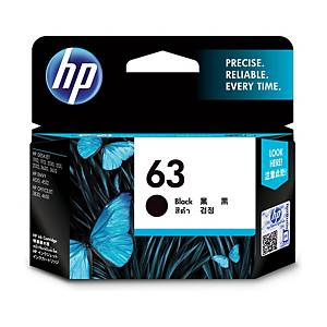 HP 63 F6U62AA ORIGINAL INKJET CARTRIDGE BLACK