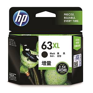 HP F6U64AA 63XL Inkjet Cartridge - Black