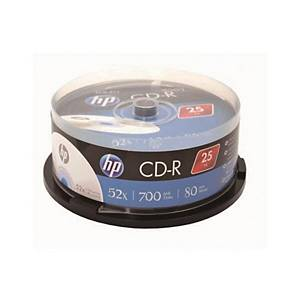 HP CD-R 80MIN 700MB 스핀들 25입