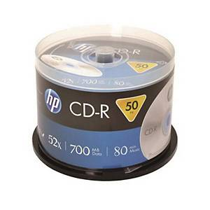 HP CD-R 80MIN 700MB 스핀들 50입