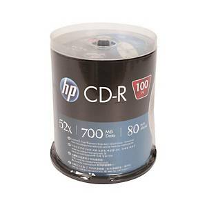 HP CD-R 80MN 700MB 스핀들 100입
