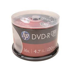 HP DVD-R 120MIN 4.7GB 16x 스핀들 50입