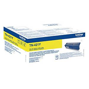 Brother TN-421Y laser cartridge yellow [1.800 pages]