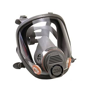 3M 6700 REUSABLE FULL FACE MASK L/GREY S