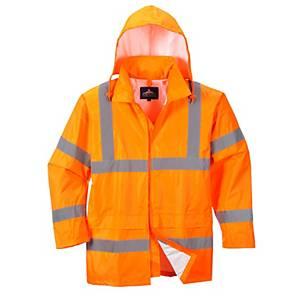 Giacca impermeabile alta visibilità Portwest H440 arancione tg L