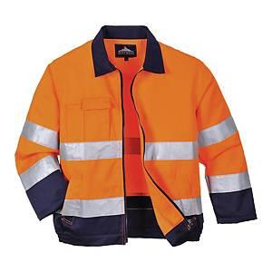 Bluza ostrzegawcza PORTWEST TX70, pomarańczowo-granatowa, rozmiar S