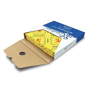 Panni assorbitori universali ad alta visibilità 14 lt per pacco Carvel - conf.25