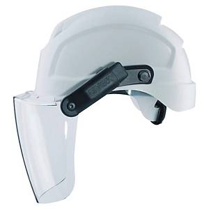 UVEX POLYCARBONATE VISOR W/MAGNETIC ARMS
