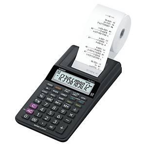Calculatrice imprimante Casio HR-8RCE, 12 chiffres, carbone