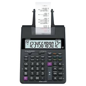 Calculatrice imprimante Casio HR-150RCE, 12 chiffres, carbone