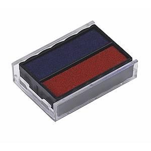 Trodat 6/4850/2 leimasintyyny punainen/sininen
