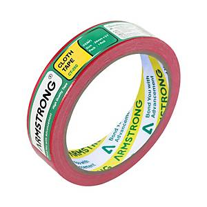 ARMSTRONG Cloth Tape 1   X 8 Yards 3   Core Red